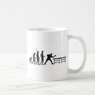 evolution tennis table taza de café
