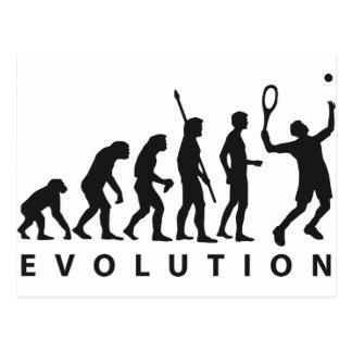 evolution tennis tarjetas postales