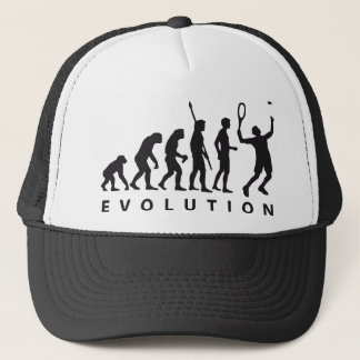 evolution tennis trucker hat