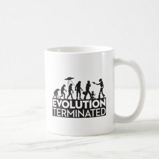 Evolution Terminated Coffee Mug