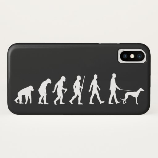 Evolution to Greyhound Owner iPhone X Case