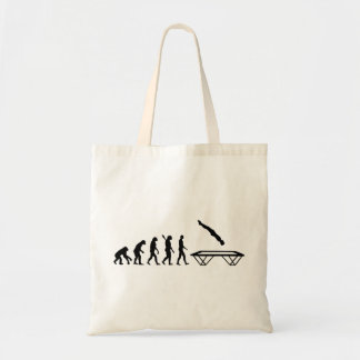 Evolution Trampoline Tote Bag