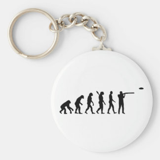 Evolution trap shooting keychain