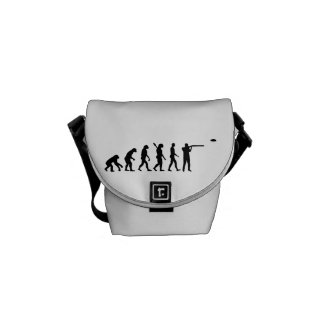 Evolution trap shooting messenger bag