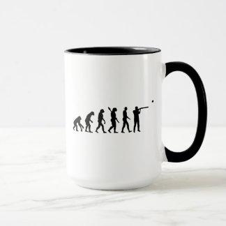 Evolution trap shooting mug