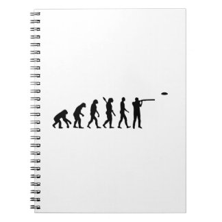 Evolution trap shooting spiral notebook