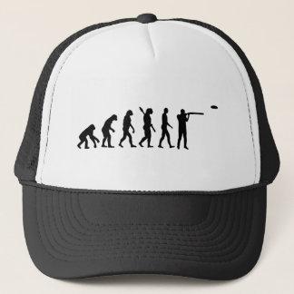 Evolution trap shooting trucker hat