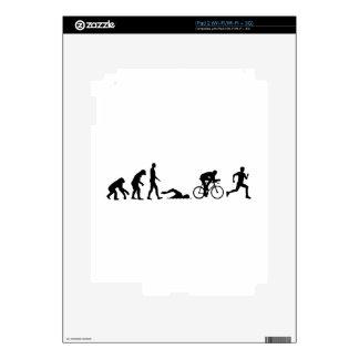 Evolution triathlon iPad 2 decals