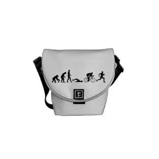 Evolution triathlon messenger bag