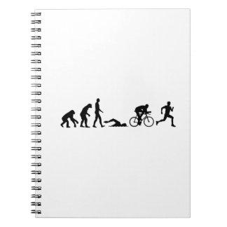 Evolution triathlon note books