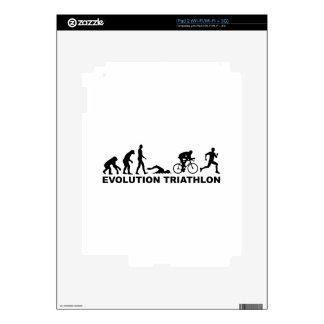 Evolution triathlon skins for iPad 2