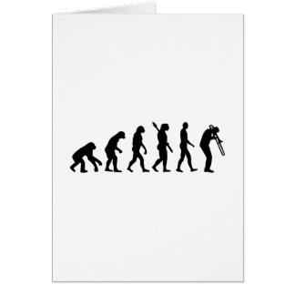 Evolution Trombone Card