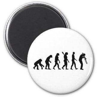 Evolution Trombone Refrigerator Magnets