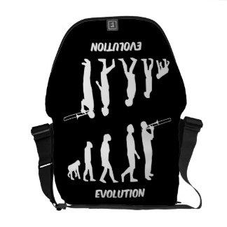 evolution trombone palyer messenger bag