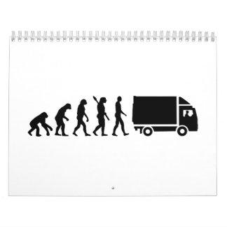 Evolution Truck Calendar