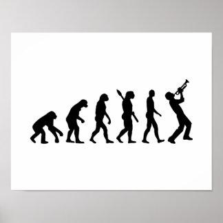 Evolution trumper poster