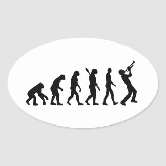Evolution trumper sticker