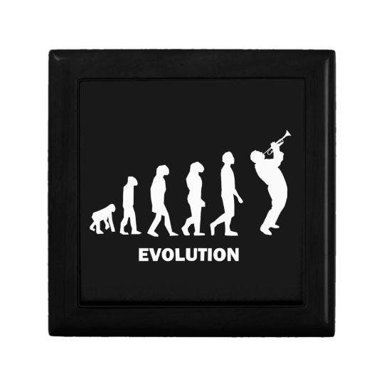 evolution trumpet keepsake box