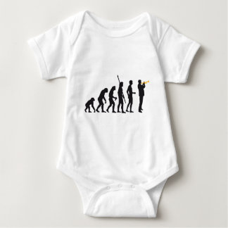 evolution trumpet more player baby bodysuit