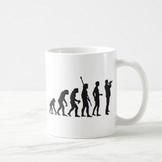 evolution trumpet more player coffee mug
