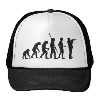 evolution trumpet player gorro