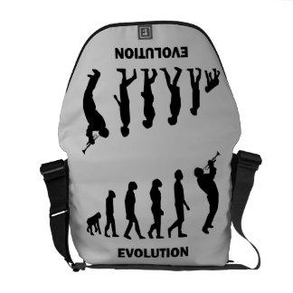 evolution trumpet player messenger bag