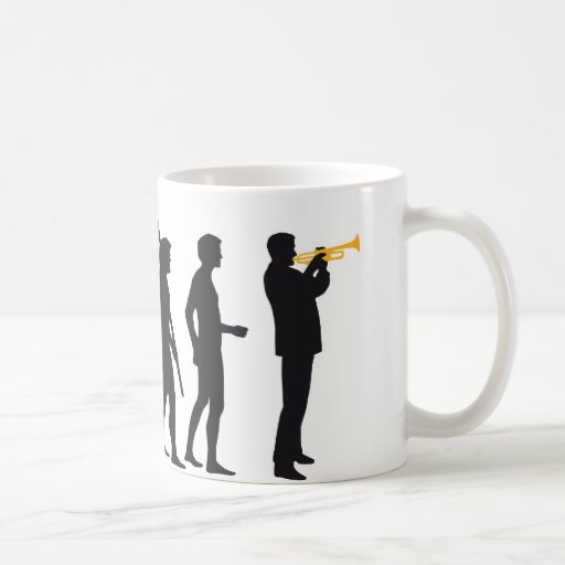 evolution trumpet player tazas
