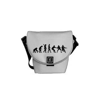 Evolution tug of war courier bag