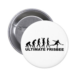 Evolution Ultimate Frisbee Button