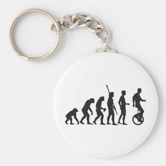 evolution unicycle keychain
