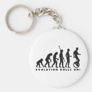 evolution unicycle llavero redondo tipo pin