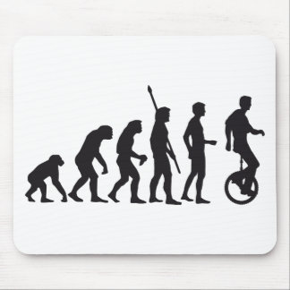 evolution unicycle mouse pad
