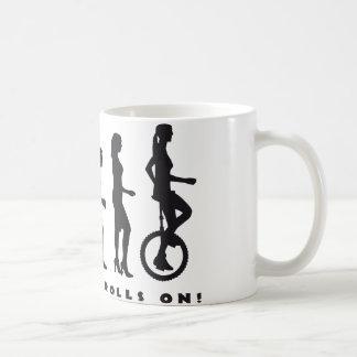 evolution unicycle taza clásica