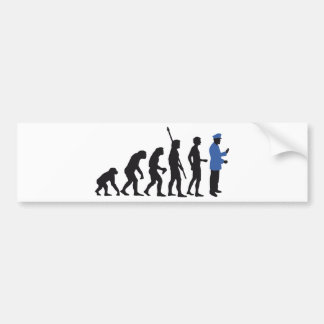 Evolution uniform 2C Bumper Sticker