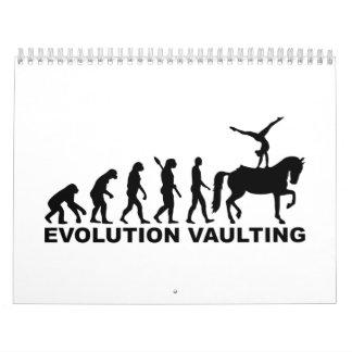 Evolution Vaulting horse Calendar