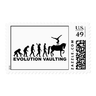 Evolution Vaulting horse Postage
