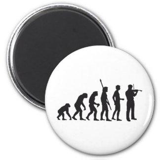 evolution violin 2 inch round magnet