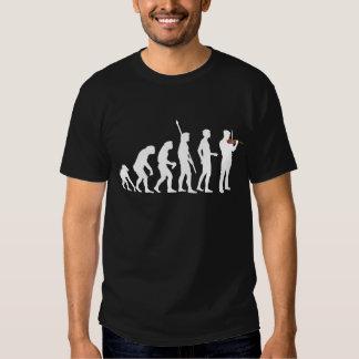 evolution violin more player t shirt