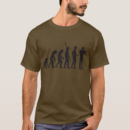 Evolution Violin T-Shirt