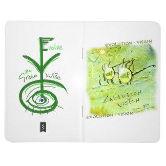 Evolution Vision : pocket book Journal