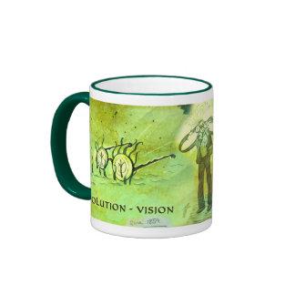 Evolution-Vision Ringer Coffee Mug