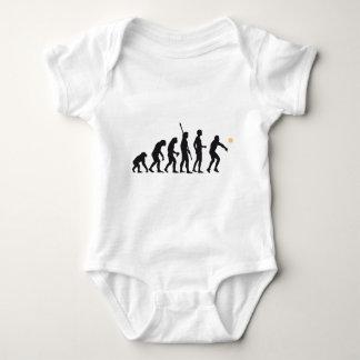 evolution volleyball baby bodysuit