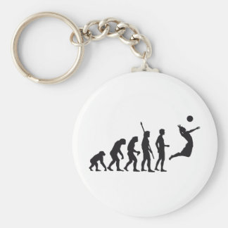 evolution volleyball keychains
