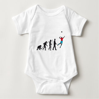 evolution volleyball more player baby bodysuit