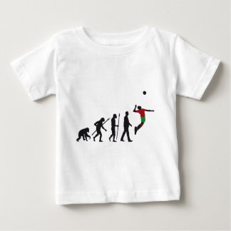 evolution volleyball more player baby T-Shirt