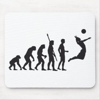evolution volleyball mouse pad