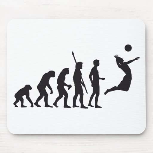 evolution volleyball mousepad