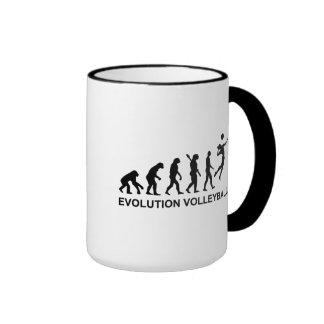 Evolution Volleyball Coffee Mugs