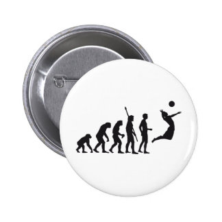evolution volleyball pin