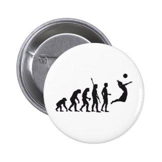 evolution volleyball pin redondo 5 cm